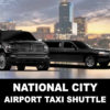 national-city airport taxi